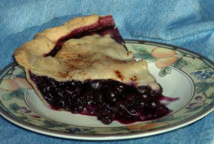 Blueberry Pie Slice